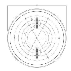 無電極ランプPJ150N図面2