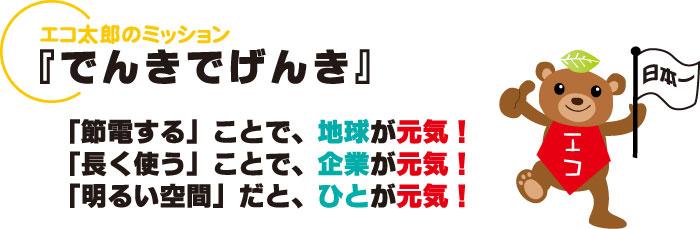 LVD無電極ランプ【エコ太郎】のミッション