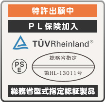 総務省型式指定製品無電極ランプ