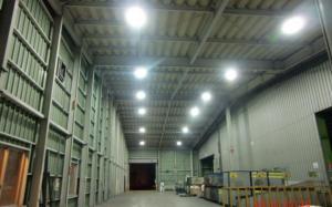 豊通スメルティングテクノロジー株式会社様 無電極ランプ設置画像2